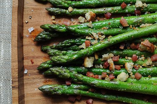 Asparagus with Pancetta