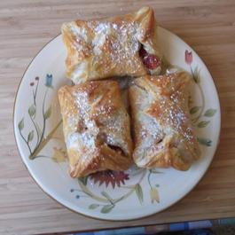 Breakfast Danish Ricotta and Quins Pastries