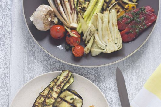 Mixed Grilled Vegetables (Vedure grigliate) – Antipasto (Starter)