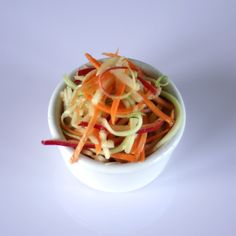 Haystack Salad with Maple Vinaigrette