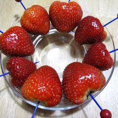 Chocolate Vodka Marinated Strawberries