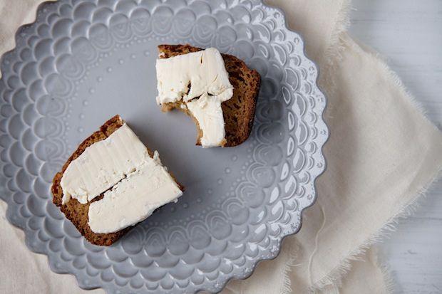 Pumpkin Bread wih Brie food52