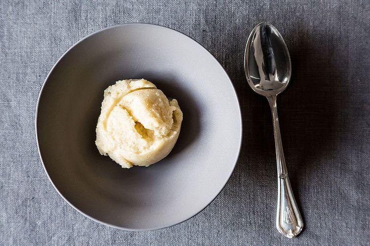 Pear Vanilla Sorbet