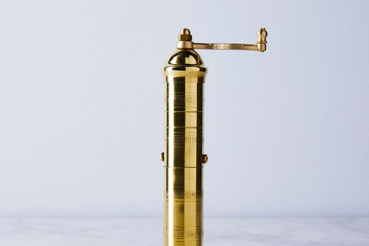 Traditional Greek Pepper Mills
