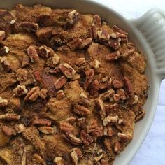 Brandied Fig, Dried Cherry and Dark Chocolate Bread Pudding