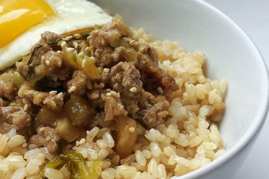 Taiwanese Braised Minced Turkey/Pork Over Rice (滷肉飯 - Lu Rou Fan)