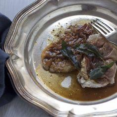 Veal Escalopes with sage and prosciutto (Saltimbocca alla romana) Lazio