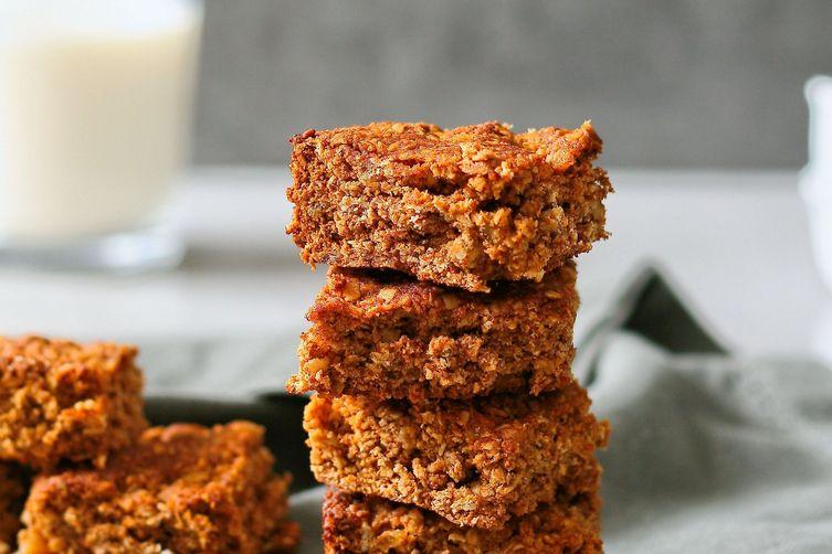 Honey oat crunchies