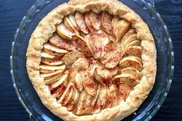 Rustic Apple Pie Tart