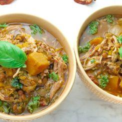 Slow Cooker Italian Pork Stew