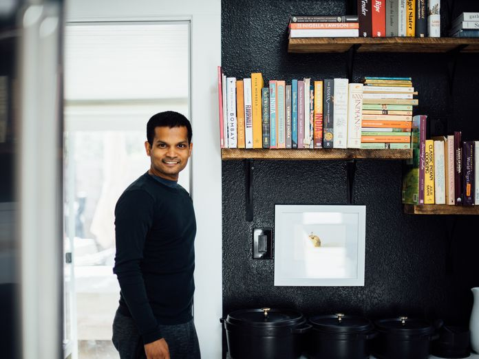 Inside Nik Sharma's Kitchen & the Cookbooks He Turns to Again and Again