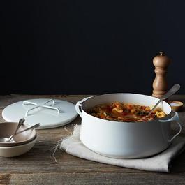 Kobenstyle 4 Quart Casserole Pot with Lid Trivet