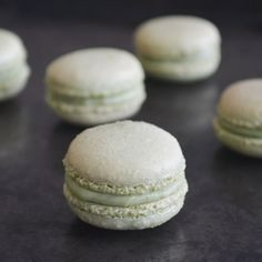 Avocado And Green Tea Macarons