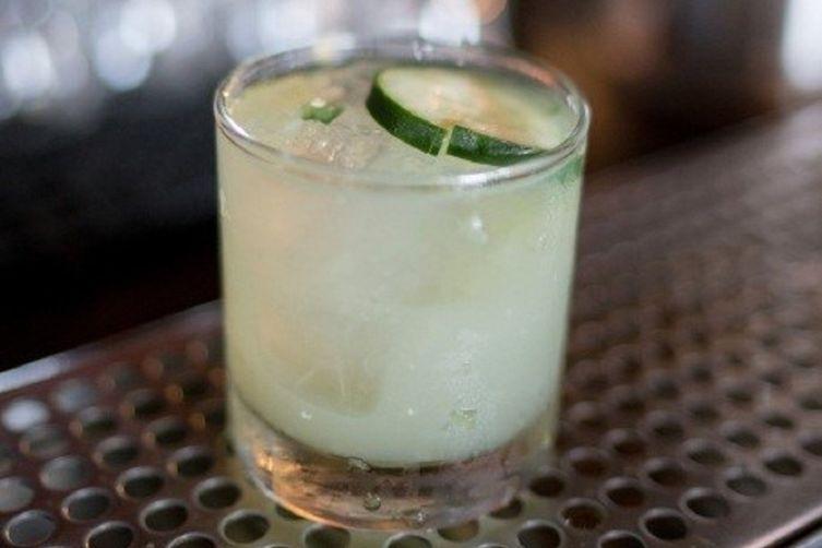 Jalapeño & Cucumber Cocktail