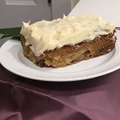 So.... Delicious Apple Pecan Cake