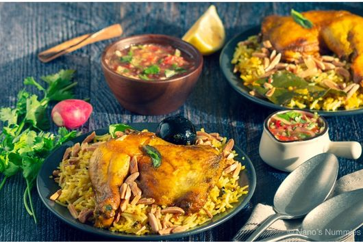 Mandii (Arabic rice pilaf)
