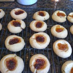 Jam Thumbprints Cookies