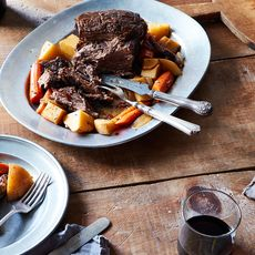 Pot Roast with Coffee and Whiskey