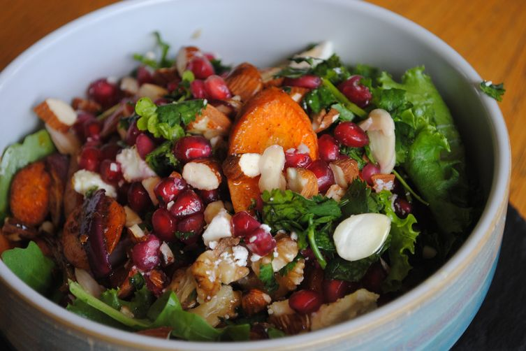 Moroccan Wholegrain Salad