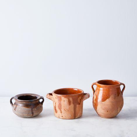 Vintage Ceramic Herb Pots