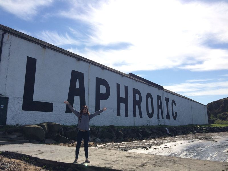 Considering becoming a 'Friend of Laphroaig' to get lifetime lease on a plot of land here—one square foot, but still. (Spoiler: I went for it.)