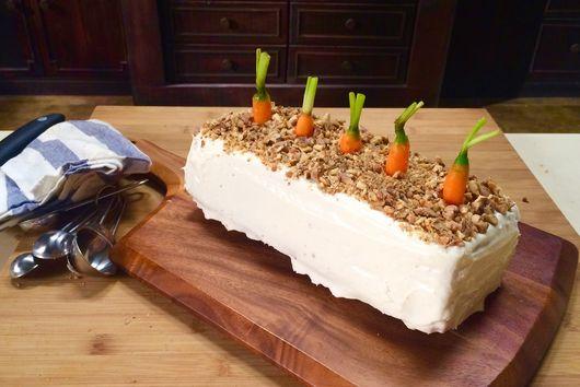 Parrot's Carrot Cake