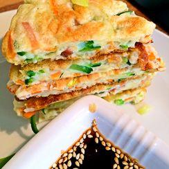 Jidan Tanbing, Stuffed Fluffy Omelette