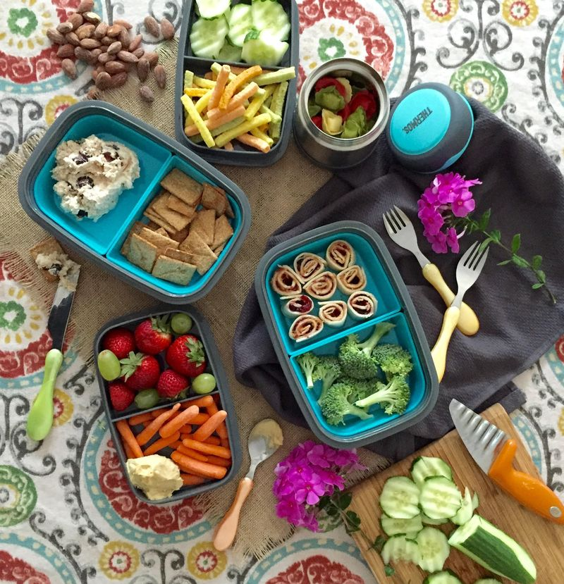Lunch box inspiration.