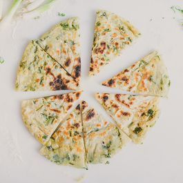 Simple Scallion Pancakes
