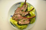 Grilled Rack of Lamb Asian Salad