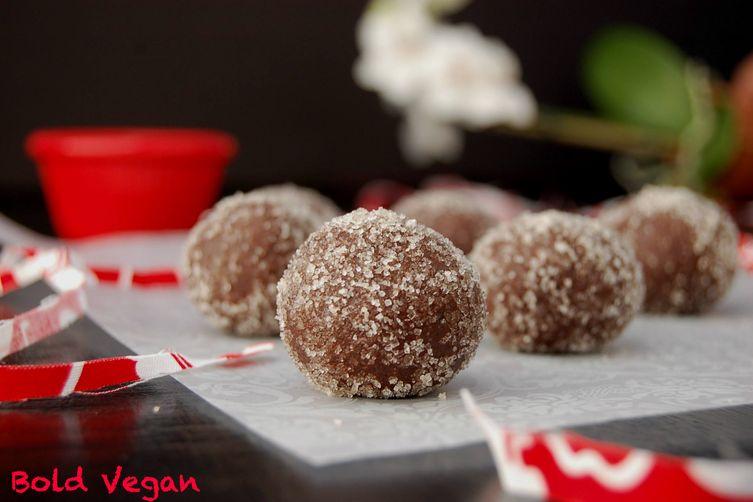 Raw Cocoa Truffles