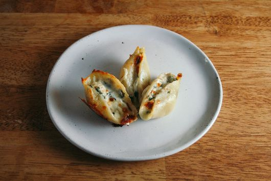 Chicken, Spinach, & Artichoke Stuffed Shells