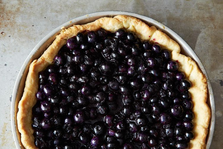 blueberry pie on Food52