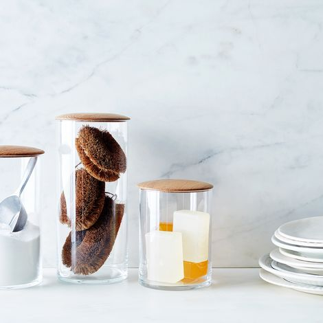 Glass & Oak Simple Storage Containers