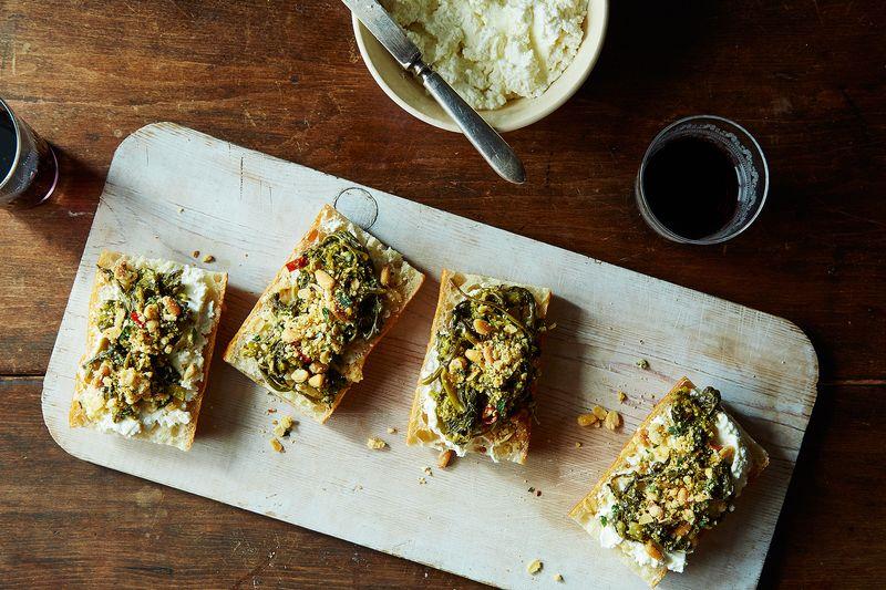 ... broccoli rabe potato and rosemary pizza recipe on food52 broccoli rabe