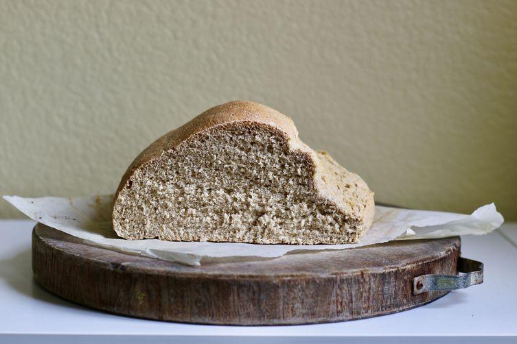 Applesauce Yeast Bread (vegan)