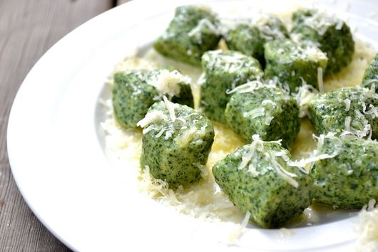 Spinach, Ricotta, and Parmesan Gnocchi