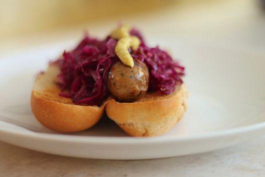 Quick Red Cabbage Sauerkraut