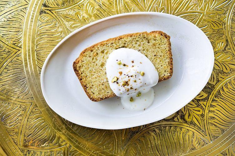Pistachio Spice Cake