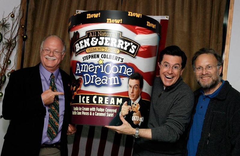 Live the Americone Dream with Stephen Colbert.