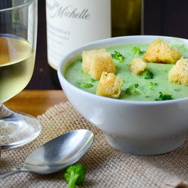 Truffled Cream of Broccoli Soup