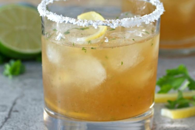 Preserved Lemon Spicy Margarita