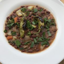 White Miso Red Bean Stew
