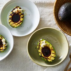Grilled Avocado with Ponzu Sauce