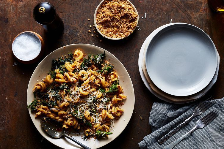 Whole wheat pasta deserves to be loved (and covered in nduja and breadcrumbs).