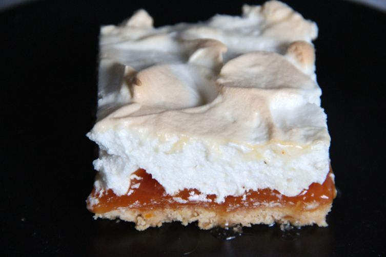 Blood Orange Meringue Bars
