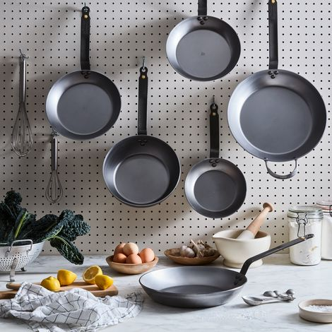 de Buyer Mineral B Carbon Steel Cookware