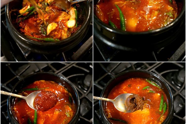 Vegetarian Soon Tofu Jjigae (Korean Silken Tofu Stew)