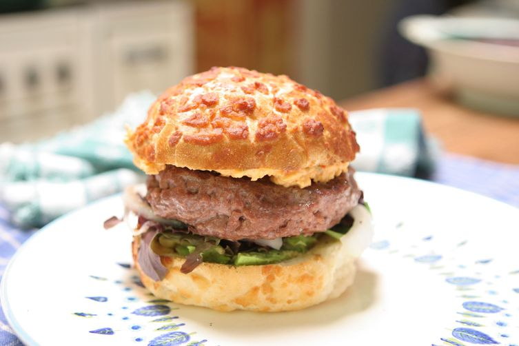 Bacon-Stuffed Burgers with Pimento Cheese and Avocado