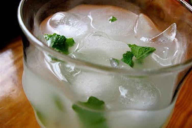 Lemon Mint Barley Water